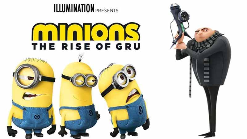 """เจ้าตัวเหลือง """"มินเนียนส์"""" ตัวป่วนกับภาคต่อ Minions: The Rise of Gru"""